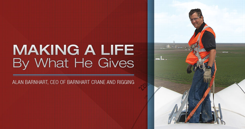 Making A Life By What He Gives